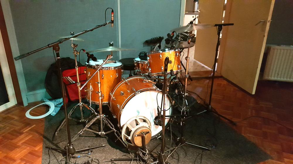 Opnames drums